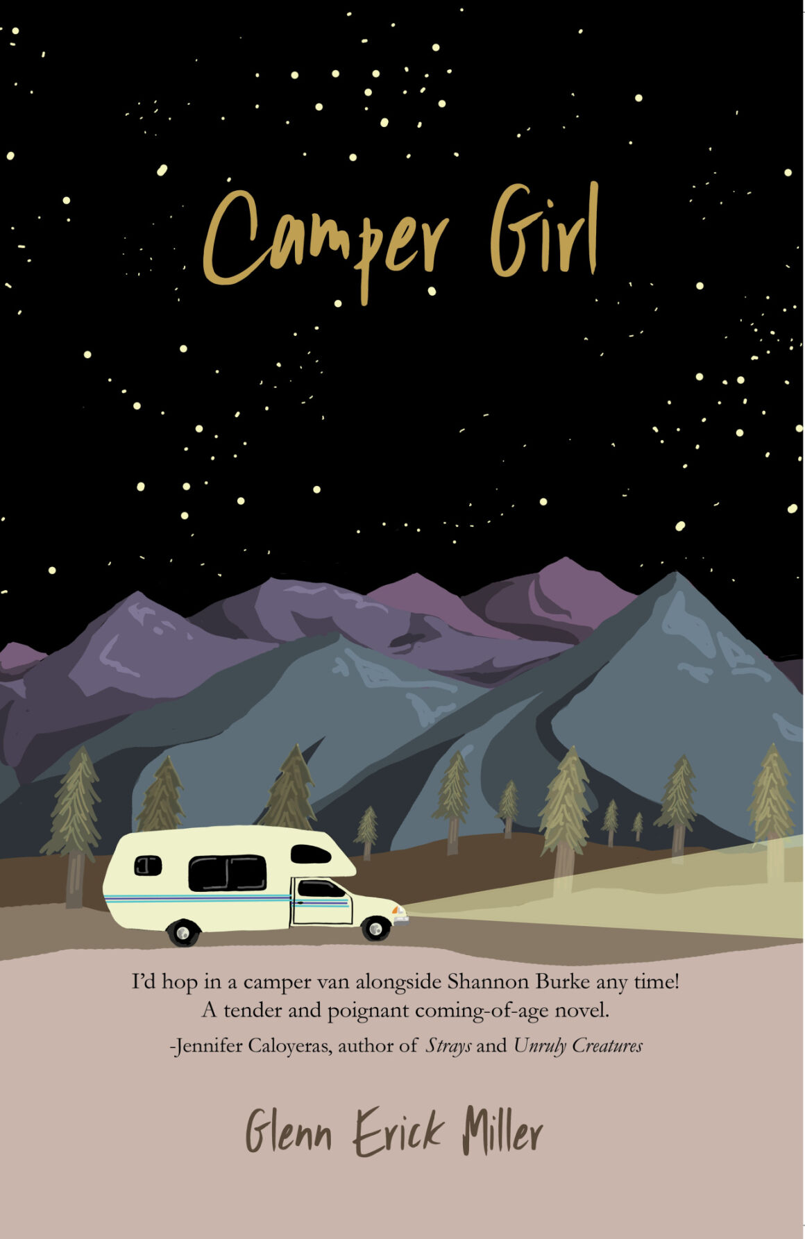 Young adult novel 'Camper Girl' fueled by a challenge and comrades