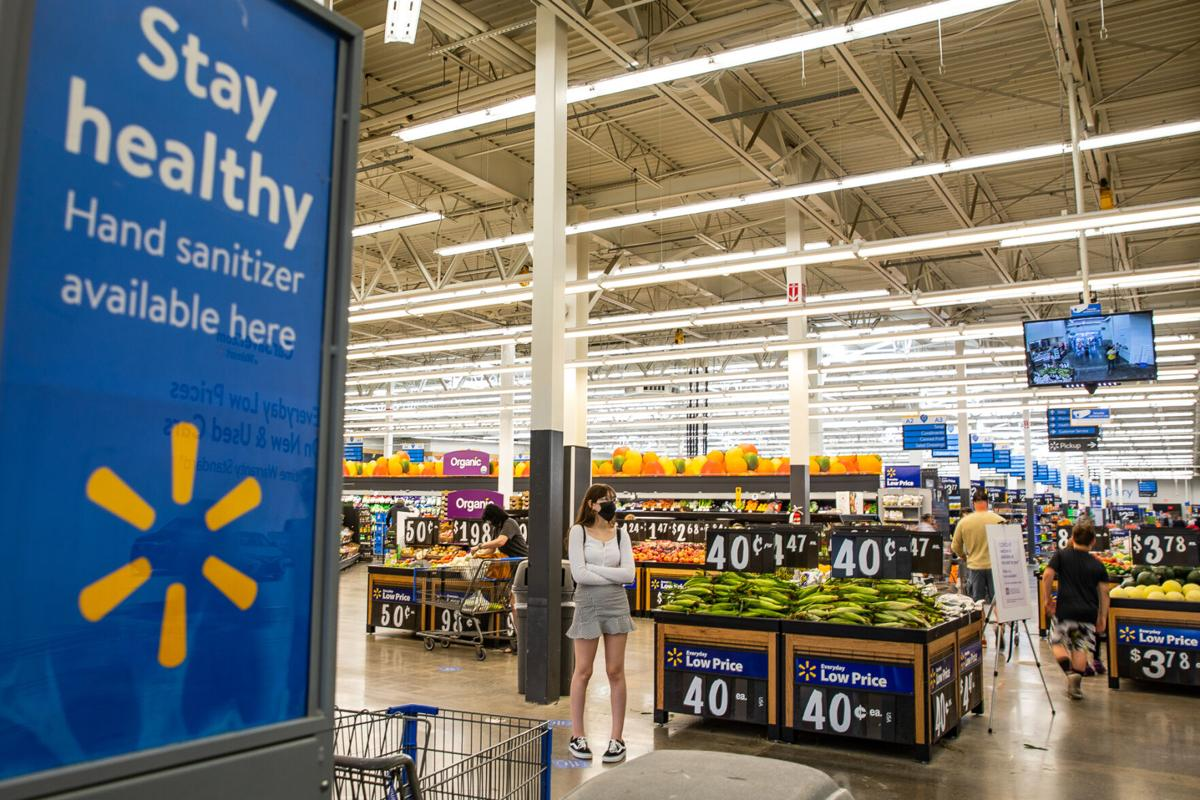 Vaccinated people still must wear masks at local Walmarts