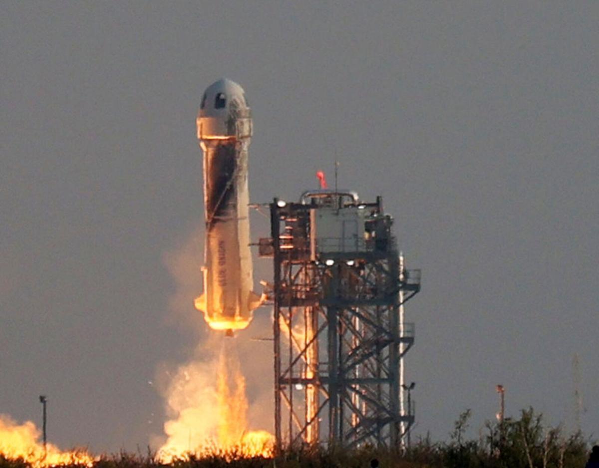 Blue Origin flight successful