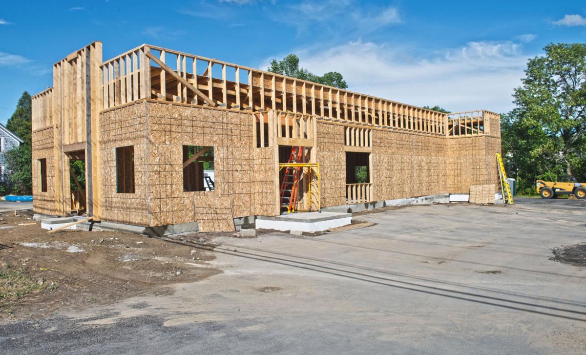 Canton Dairy Queen rebuild takes shape