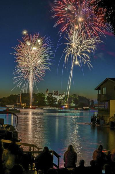 Fireworks set to light up sky around area