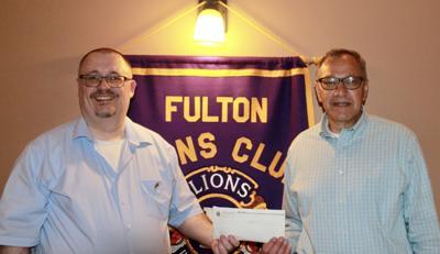 Author Jim Farfaglia visits Fulton Lions Club