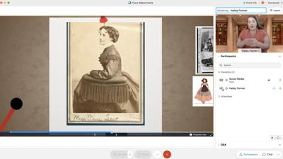 Students brought back to the Civil War thanks to distance learning