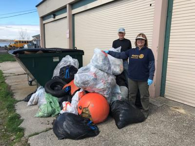 Fulton Rotary cleans up