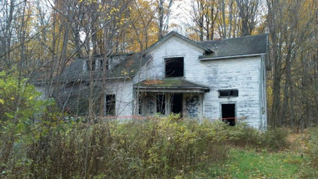 Fire Destroys Cooks Corners Haunted House Local History Nny360 Com