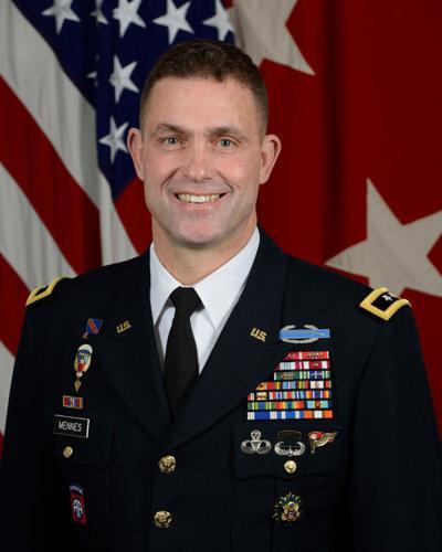 Gen. Mennes excited to be back in N.Y.