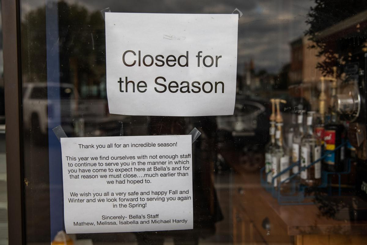 Bella's closes early amid labor shortage