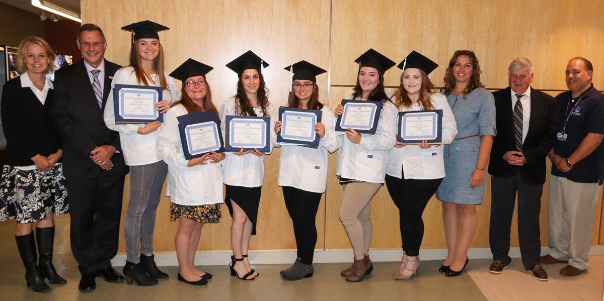Six students graduate from CCCE dental assisting program