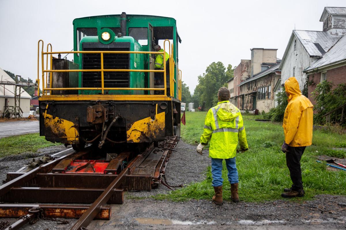 Lowville receives locomotive