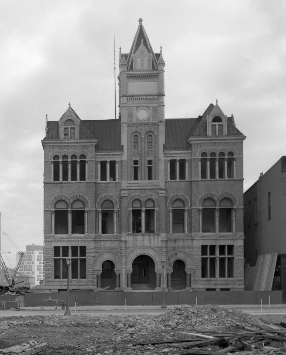 Old Watertown City Hall bites the dust