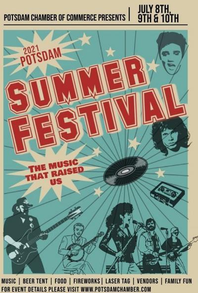 Potsdam summer festival returns for July 8-10 run
