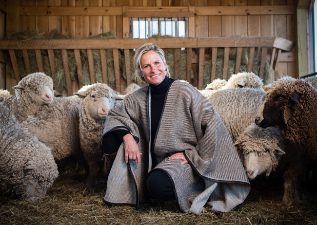 Designing shepherd finds niche in farm-to-fashion movement