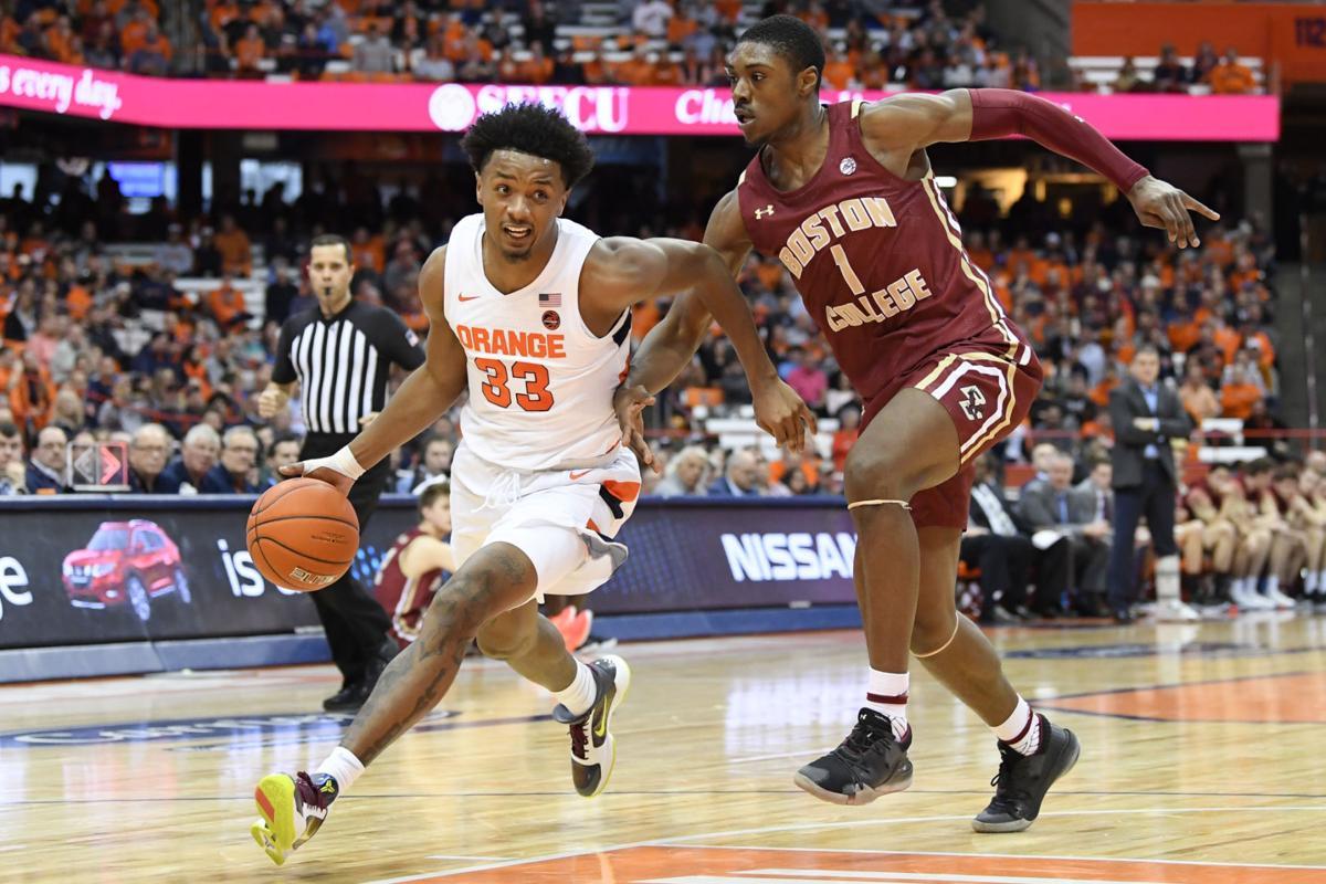 College Basketball Syracuse Cruises To Win Over Boston