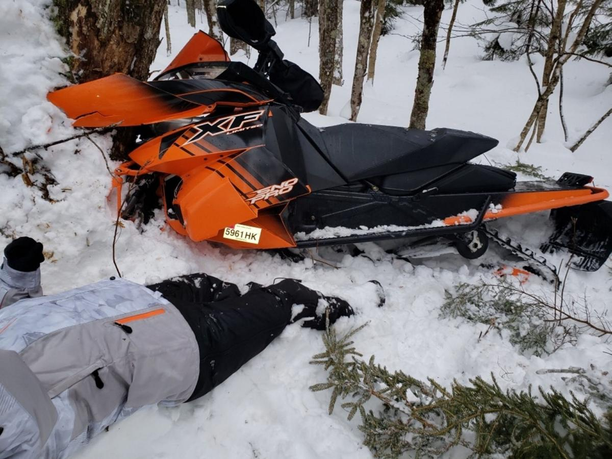 Woman recovering from snowmobile crash injury