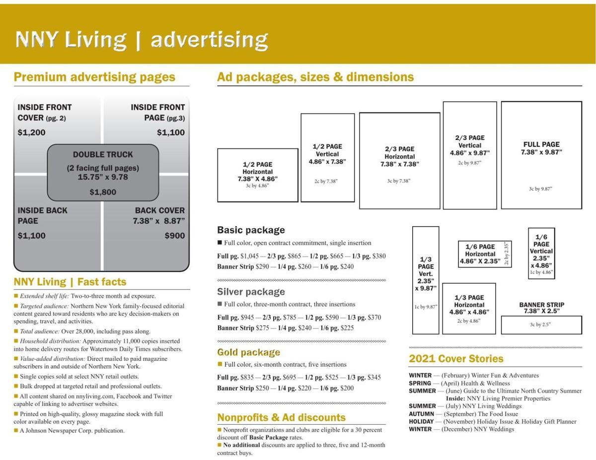 NNY Living Ad Brochure 2021