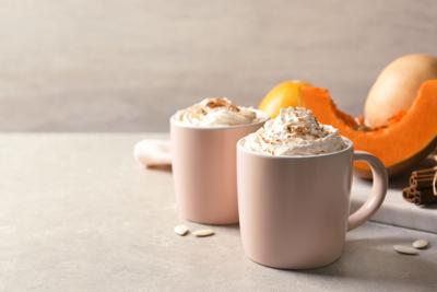 You can make pumpkin spice lattes at home