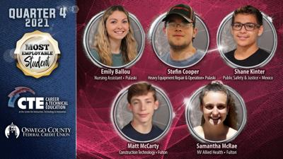 CTE students recognized as most employable for Q4