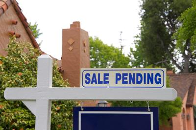 Pending sales rose less than forecast