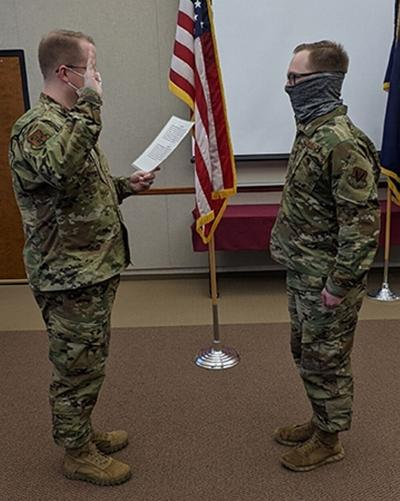 Bernhard's Bay resident reenlists in Air National Guard