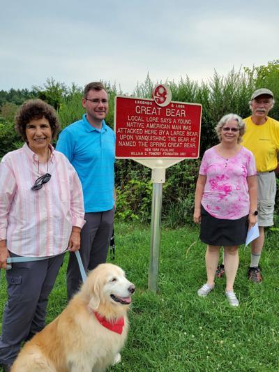 Roadside marker dedicated in Volney