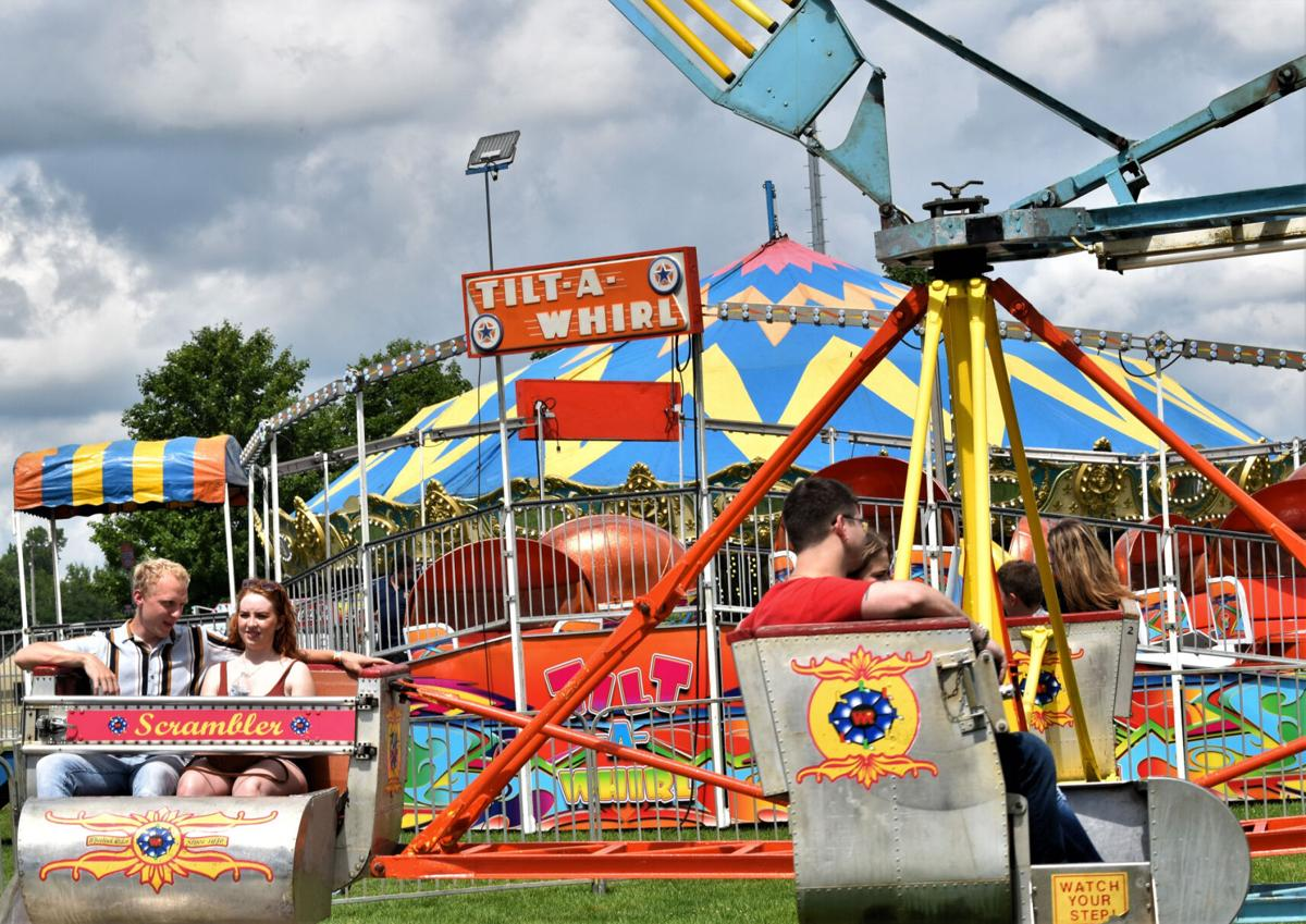 Going for a spin at Jefferson Co. Fair