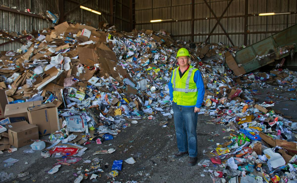 Recycling downturn hits St. Lawrence