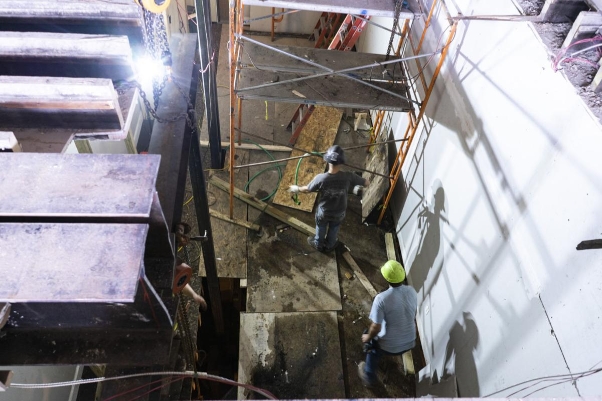 Lincoln Building sees progress