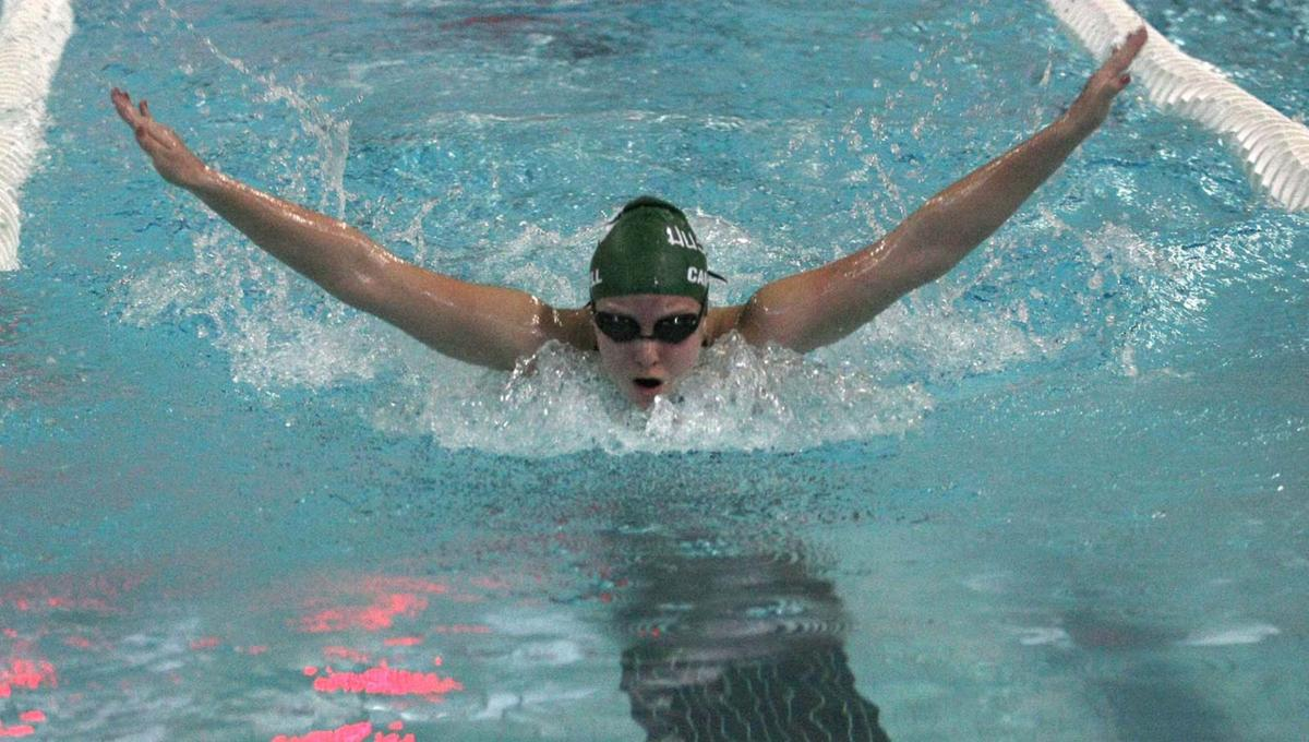 Canton wins section swimming title, FA second