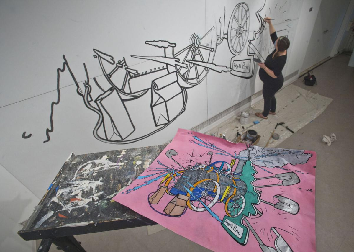 Ode to innovation starts mural art project