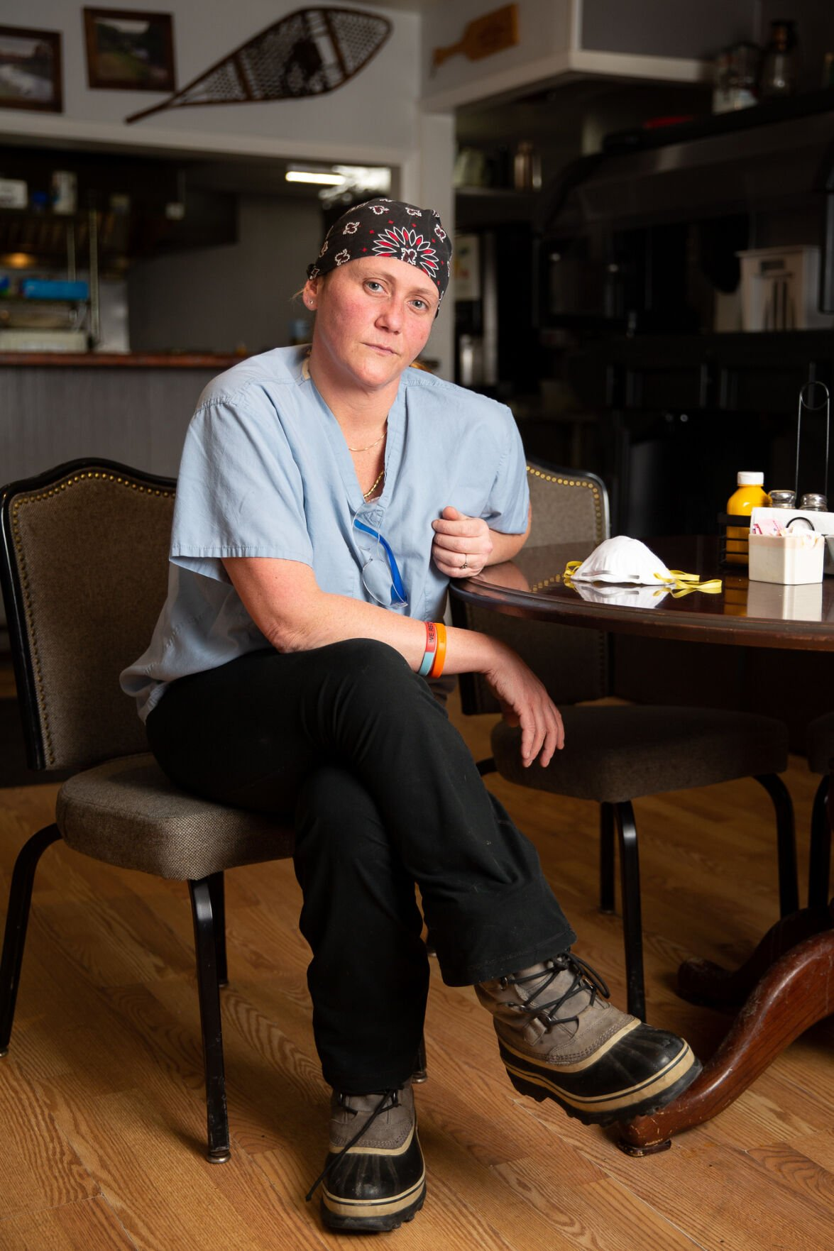 TOO BUSY FOR A DAY OFF Hit-and-run incident adds to stress for physician assistant, restaurateur