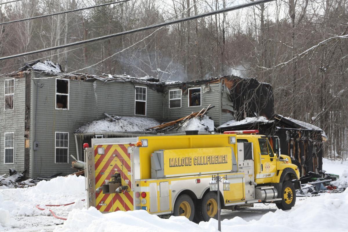 Malone house, garage fire rekindles