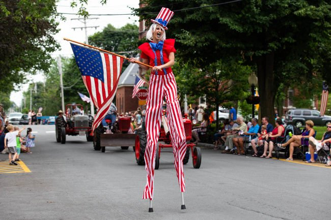 Parade opens Sackets Can-Am Festival