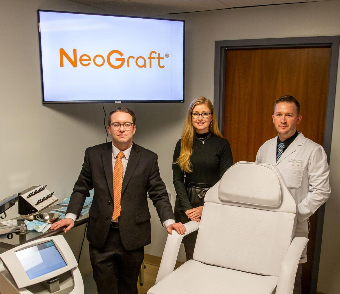 High-tech hair restoration comes to NNY