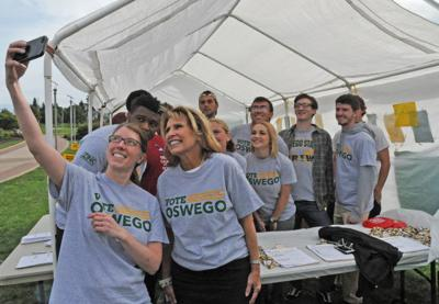 College's Vote Oswego founder earns national civic engagement award