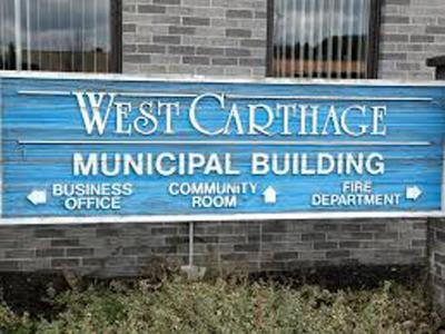 West Carthage DPW OKs new garage door