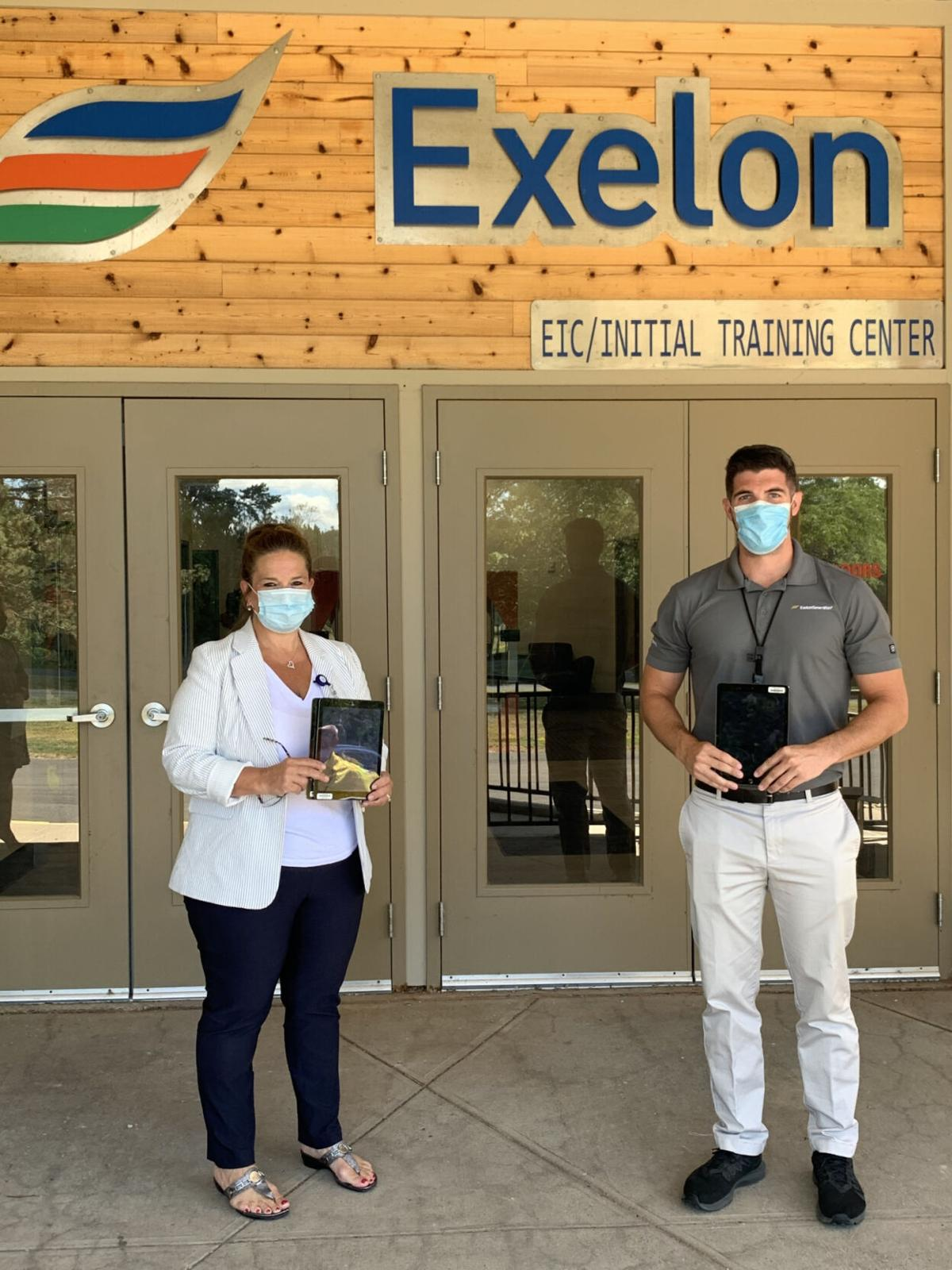 Exelon donates iPads to Oswego Health to assist patients with access to care