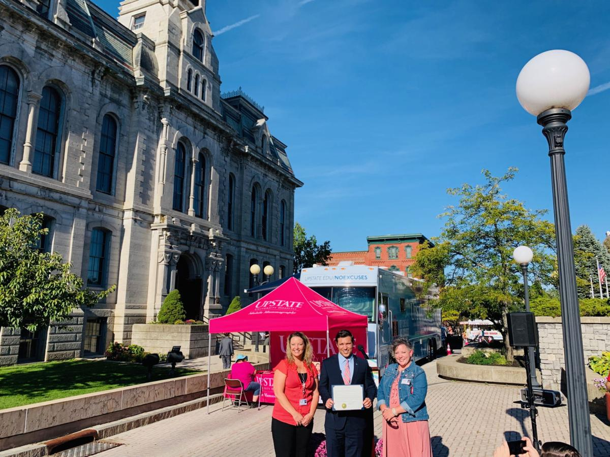 Mayor Barlow announces changes to employee cancer screening policy