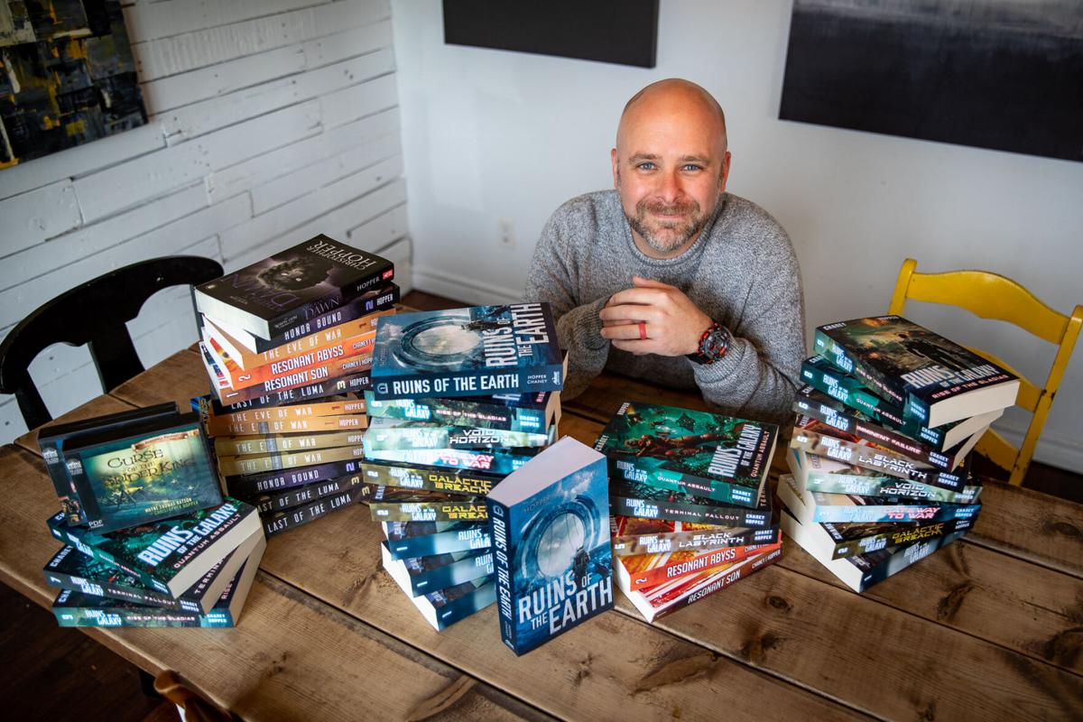 Former pastor finds his 'super power' in SCI-FI UNIVERSE Christopher Hopper a successful author after leap of faith