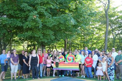 Sandy Creek Elementary School dedicates Buddy Bench to honor student