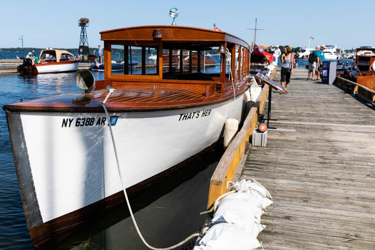 Antique boat show returns to Clayton