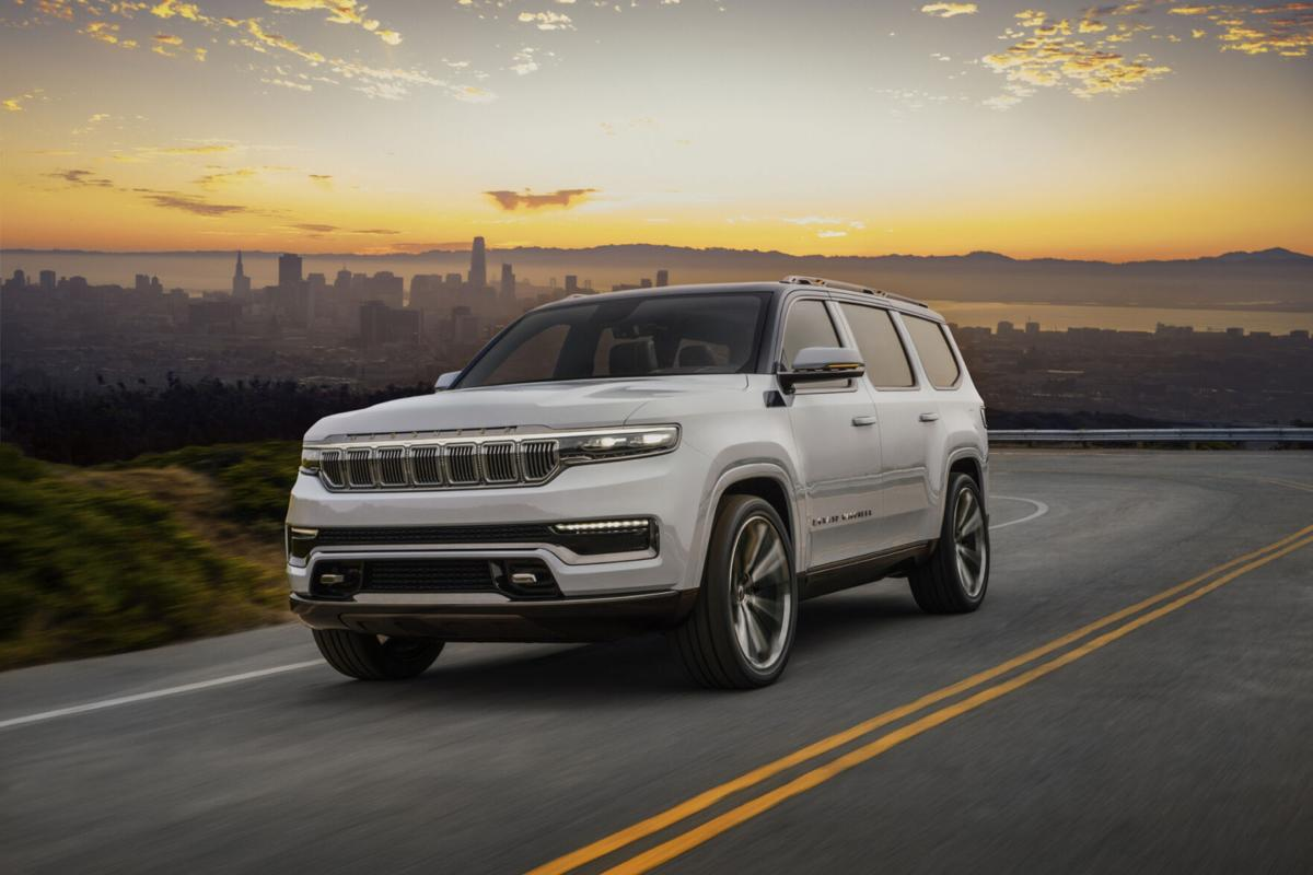 Jeep Grand Wagoneer concept shows FCA is ready to play with big SUVs