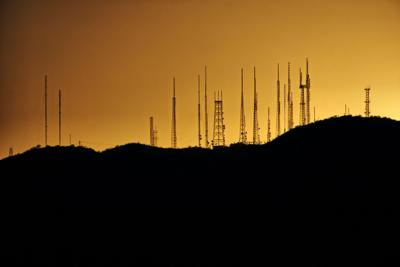 5G cell towers start to pop up
