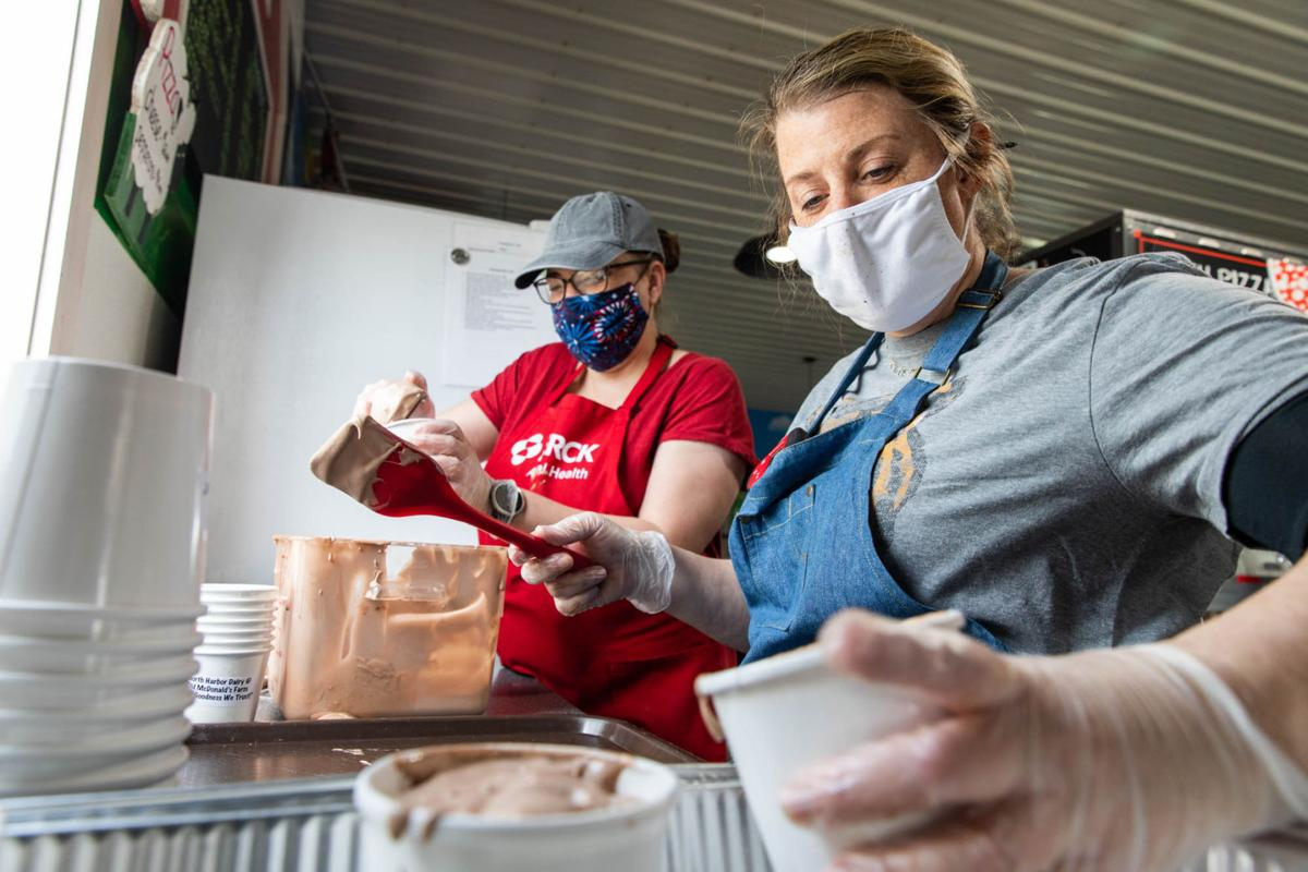 Old McDonald's offers own milk, ice cream