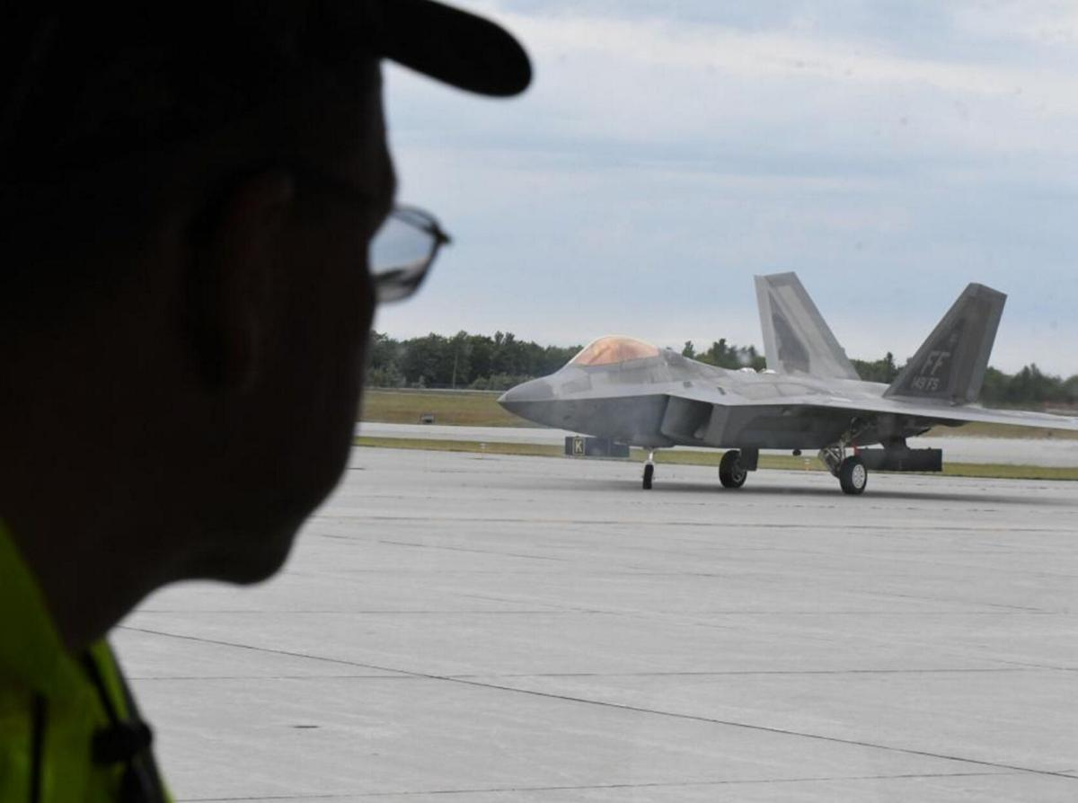 Stealth jets draw attention