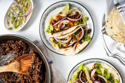 Chili lime black bean tacos take just 20 minutes, a few pantry staples