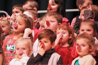 FCSD UPK students spread holiday cheer at sing-a-long