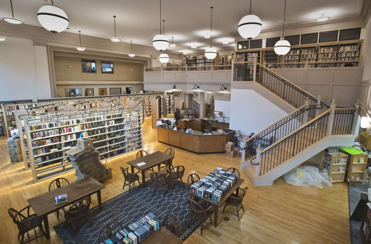 Revamped Potsdam Library aims for Sunday reopening