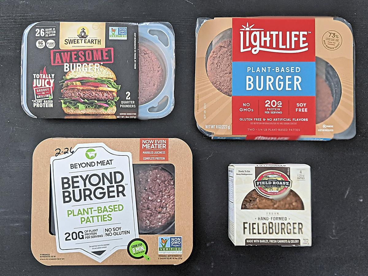 GO FAUX Yes, it's possible to eat a decent burger during Lent, if you don't mind plants
