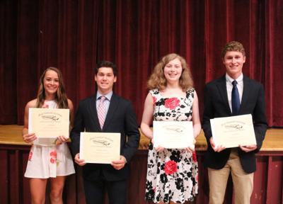 Pulaski students honored at senior night