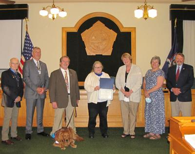 Williams marks 40 years of service with Oswego County